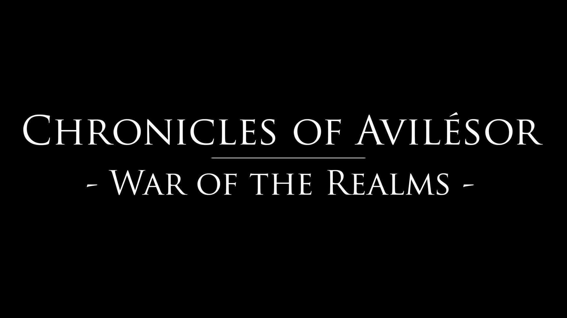 Chronicles of Avilésor